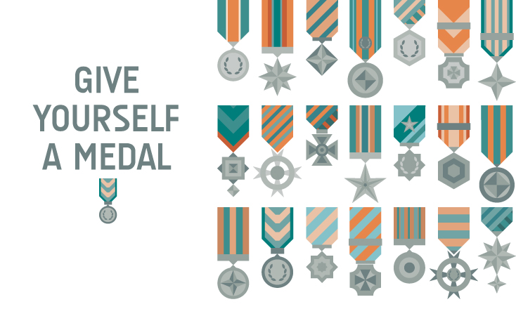 Give yourself a medal